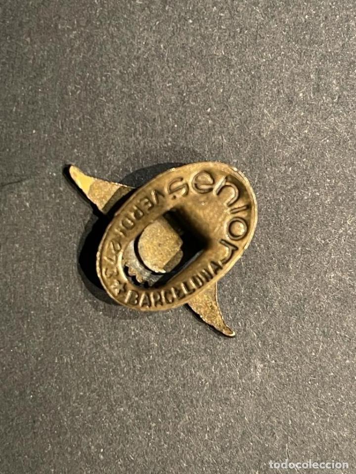 Pins de colección: PIN - DIFICIL INSIGNIA DE SOLAPA MOTOCICLETAS MM ALEU - Foto 3 - 253257540