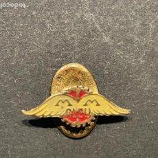 Pins de colección: PIN - DIFICIL INSIGNIA DE SOLAPA MOTOCICLETAS MM ALEU. Lote 253257540