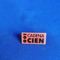 Pins de colección: PIN CADENA 100 RADIO. Lote 254159065