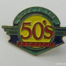 Pins de colección: PIN INSIGNIA DE COLECCION - BACK TO THE 50. Lote 254899115