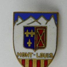 Pins de colección: PIN INSIGNIA DE COLECCION - MONT LOUIS. Lote 254899225