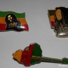 Pins de colección: LOTE PIN'S BOB MARLEY. Lote 255355835