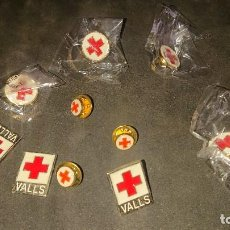 Pins de coleção: LOTE DE 10 PINS DE LA CRUZ ROJA , LEER DESCRIPCION. Lote 256089435