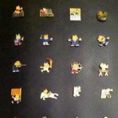 Pins de colección: LOTE 24 PIN O PINS COBI (MASCOTA JUEGOS OLIMPICOS BARCELONA 92). Lote 257452305