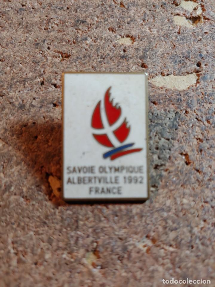 PIN DE LOS JUEGOS OLIMPICOS ALBERTVILLE 92 FRANCIA (Coleccionismo - Pins)