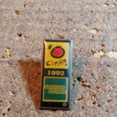 Spille di collezione: PIN DE ESPAÑA 92 AMERICAN EXPRESS. Lote 259233630