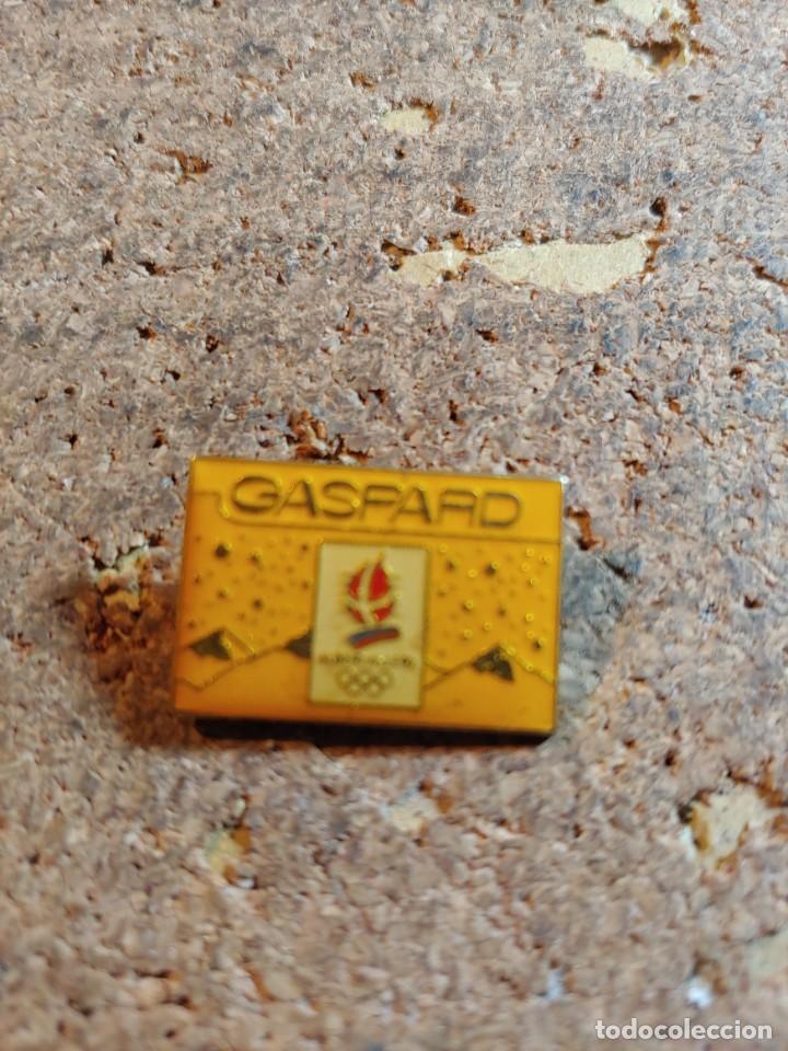 PIN DE LOS JUEGOS OLIMPICOS ALBERTVILLE 92 (Coleccionismo - Pins)