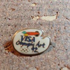 Spille di collezione: PIN DE LOS JUEGOS OLIMPICOS DEL 92 CON VISA. Lote 259238465