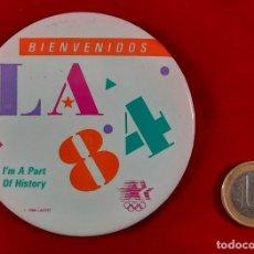 Pins de colección: PING , CHAPA JUEGOS OLIMPICOS 1984 DE LOS ANGELES. Lote 259927295