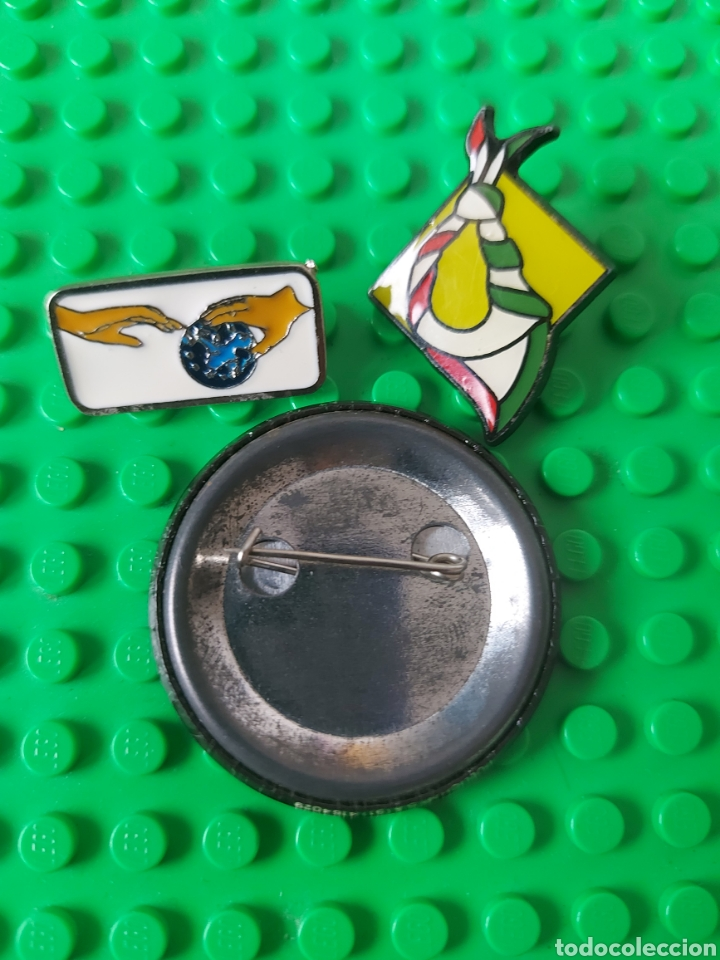 Pins de colección: Pin político lote movimiento Scout País Vasco - Foto 2 - 260081155