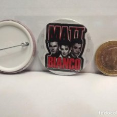 Pins de colección: CHAPA BOTON ALFILER PIN MATT BIANCO 38MM PEPETO. Lote 261144295