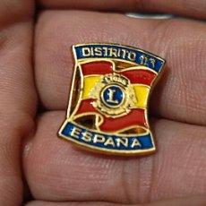 Pins de colección: LYONS ESPAÑA DEPARTAMENTO 116 2 CM ALTO RARA. Lote 261571170