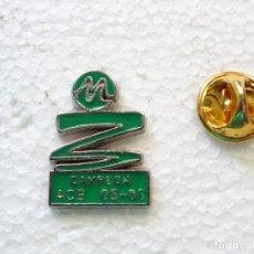 Pins de colección: PIN DE DEPORTES. BALONCESTO. UNICAJA MÁLAGA CAMPEÓN LIGA ACB 05 06 2005 2006. Lote 262450250