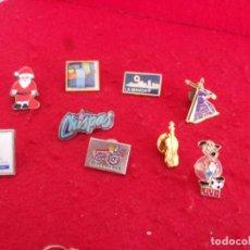 Pins de colección: LOTE PIN,JESUS NAZARENO,CHISPAS,LA MANGA Y OTROS,LEER DESCRIPCION. Lote 263680885