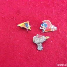 Pins de colección: LOTE 3 PIN SEGA,DISTINTOS. Lote 263681675