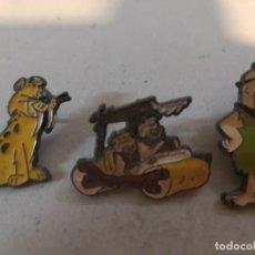 Pins de colección: COLECCIÓN 3 PIN PINES SERIE DIBUJOS ANIMADOS LOS PICAPIEDRA. Lote 264205248