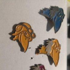 Pins de colección: 4 PIN CABEZAS SERIE DIBUJOS ANIMADOS. Lote 264245492