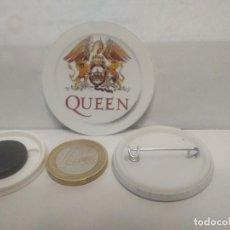 Pins de colección: CHAPA BOTON ALFILER PIN O IMAN QUEEN 38MM PEPETO. Lote 265848824