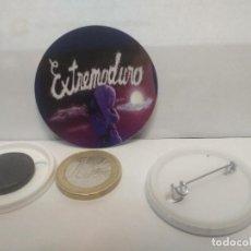 Pins de colección: CHAPA BOTON ALFILER PIN O IMAN EXTREMODURO 38MM PEPETO. Lote 265849784