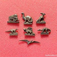 Pins de coleção: 725.LOTE 7 PIN INSIGNIA DINOSAURIOS (DINOSAURIO). Lote 266465983