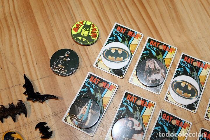 Pins de colección: BATMAN - LOTE DE ANTIGUAS CHAPAS Y BROCHES - AÑOS 80/90 - Foto 2 - 267389694