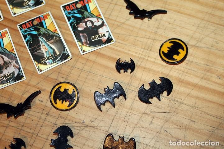 Pins de colección: BATMAN - LOTE DE ANTIGUAS CHAPAS Y BROCHES - AÑOS 80/90 - Foto 5 - 267389694