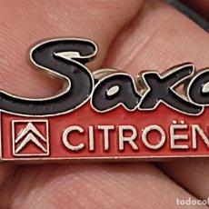 Pins de colección: SAXO CITROEN PIN PINCHO 3 CM LARGO PRECIOSA COCHE AUTO. Lote 267659409