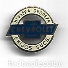 Spille di collezione: (P-403)INSIGNIA DE AGUJA CHEVROLET OROPEZA E HIJOS SUCS.. Lote 268140334