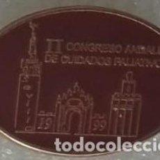 Pins de colección: PIN II CONGRESO ANDALUZ DE CUIDADOS PALIATIVOS 1999. SANIDAD. Lote 268919029