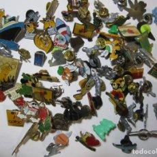 Pins de colección: LOTE MAS DE 80 PINS VARIOS COCACOLA DISNEY ARIEL PRYCA. Lote 269111378