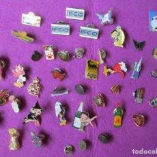 Pins de colección: LOTE 40 PINS BETTY BOOP AGIP IFCO SMIRNOFF VODKA CLIO MECANO CHESTER VER FOTOS L2. Lote 269611948