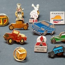"""Pins de colección: LOTE DE PINS """" TEMA COCHES"""". Lote 269631623"""
