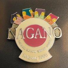 Spille di collezione: PIN MASCOTAS JUEGOS OLIMPICOS NAGANO 1998. Lote 269718228