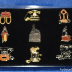 Pins de colección: COLECCIÓN DE PINES DE TELÉFONO - TELEFÓNICA. Lote 269740718