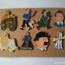 Pins de colección: LOTE DE 8 PINS DE TINTIN. Lote 270220108