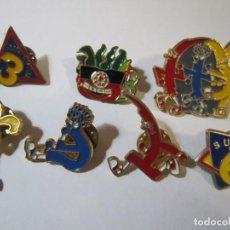 Pins de colección: LOTE 7 PINS TV3 CLUB SUPER 3 TOMATIC. Lote 273412913