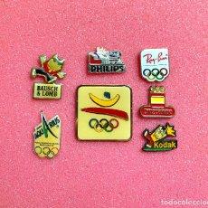 Pins de colección: 633.LOTE DE 7 PIN INSIGNIA (OLIMPIADAS BARCELONA 92) DIFICILES. Lote 276606283