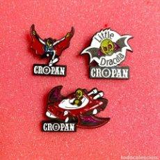 Pins de colección: 637.LOTE 3 PIN INSIGNIA CROPAN. Lote 276607118
