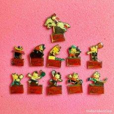 Pins de colección: 667.LOTE 11 PIN INSIGNIA BARCELONA 92 COCA-COLA. Lote 276609113