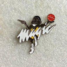 Pins de colección: 714.MUY COTIZADO PIN INSIGNIA MAGIC JOHNSON LAKERS CONVERSE BALONCESTO BASKET. Lote 276609438