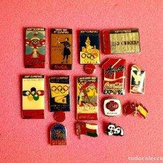 Pins de colección: 727.LOTE 14 PIN INSIGNIA EXPO 92 DE SEVILLA. Lote 276610168