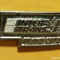 Pins de colección: PIN INTER TRANS TRANSPORTE. Lote 277203228