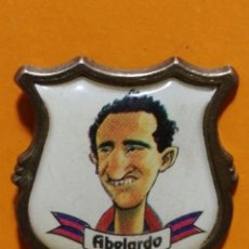 Pins de colección: PIN ABELARDO FC BARCELONA CARICATURA. Lote 277203258