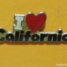Pins de colección: PIN CALIFORNIA CORAZÓN TURISMO. Lote 277204083