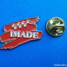 Pins de colección: PIN - IMADE - COMUNIDAD DE MADRID. Lote 277643263