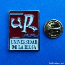 Pins de colección: PIN - UNIVERSIDAD DE LA RIOJA. Lote 277643588