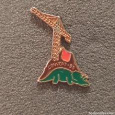 Pins de colección: PIN FALLA CONVENTO JERUSALEN 1995. Lote 278641228