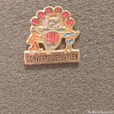 Pins de colección: PIN FALLA CONVENTO JERUSALEN 1996. Lote 278641253