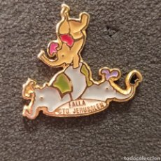 Pins de colección: PIN FALLA CONVENTO JERUSALEN 1999. Lote 278641303