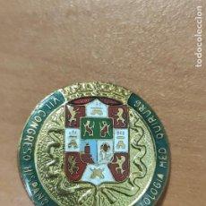Pins de colección: INSIGNIA DE ALFILER DE VII CONGRESO HISPANO PORTUGUÉS DERMATOLOGÍA MEDICINA QUIRÚRGICA. Lote 278642573